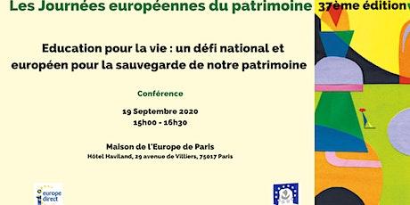 Education pour la vie : un défi national et européen pour la sauvegarde de tickets