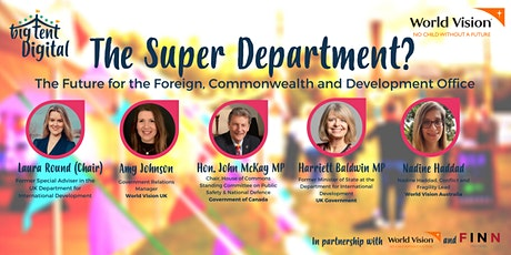 The Super Department? The Future for the FCDO tickets