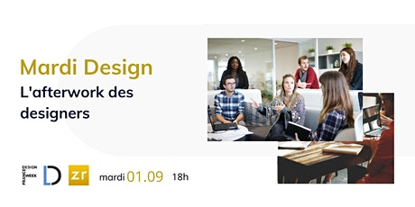 Mardi Design #6 : L'afterwork des designers (France Design Week Bretagne) billets
