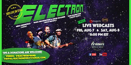 *POSTPONED TO DATE TBD* Electron LIVE Webcast tickets
