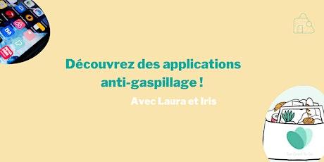 Un atelier pour découvrir des applications mobile anti-gaspi ! billets