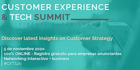 Customer Experience & Technologies Summit boletos