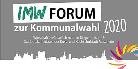 IMW Forum 2020 Tickets