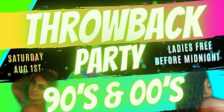 90's To The Early 00's Throwback Party tickets
