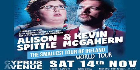 Alison Spittle + Kevin McGahern - RESCHEDULED DATE tickets
