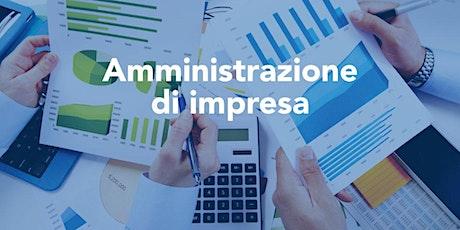 OPEN DAY - Incontro AZIENDA  Alta Formazione Amministrazione d'impresa biglietti