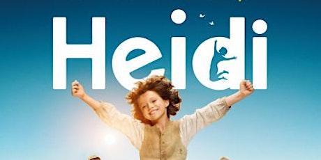 Swiss National Day Film: Heidi tickets
