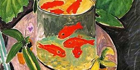Children's Art Webinar 'Henri Matisse The Goldfish' tickets