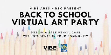 VIBE BLOOM: Back to School Art Party with Frannie Potts tickets