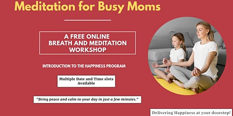 Meditation for Busy Moms tickets