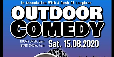 Outdoor Comedy @ Lyttelton Playing Fields tickets