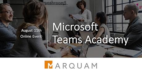 Microsoft Teams Academy - Custom Development within Microsoft Teams Tickets