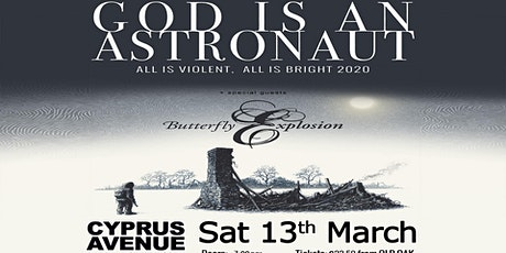 GOD IS AN ASTRONAUT - NEW SHOW DATE tickets