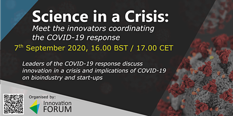 Science in a Crisis: Meet the innovators coordinating the COVID-19 response tickets