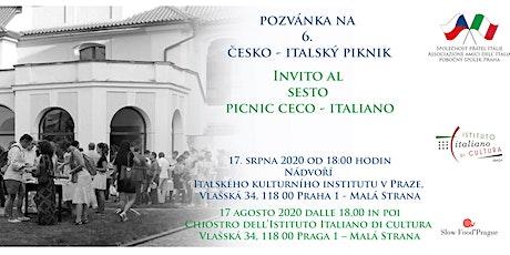 6. Česko - italský  piknik tickets