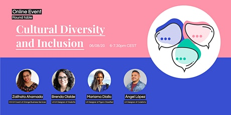 Round table 'Cultural Diversity & Inclusion in Design' by HexUX Paris tickets