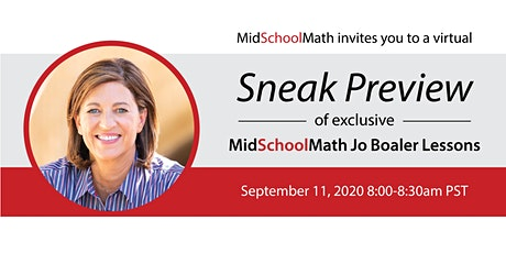 Sneak Preview: Jo Boaler Lessons tickets