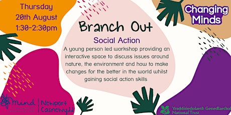 Branch Out - online social action group about nature, for young people tickets
