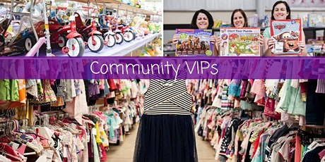 JBF All Seasons Consignment Sale - Community VIPs tickets