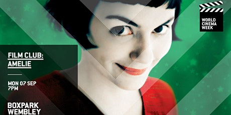 Film Club: Amelie (Boxpark Wembley) tickets