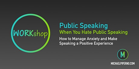 Public Speaking (When You Hate Public Speaking) billets