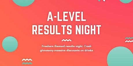 A-Level Results night Fusion Nightclub tickets
