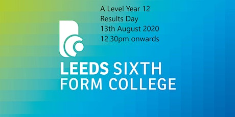 Year 12- Results day - invite only- 3:00pm tickets