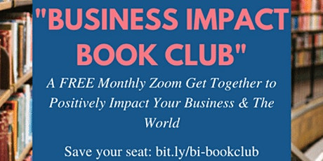 September 2020 Business Impact Book Club tickets
