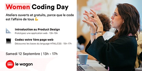 Women Coding Day billets