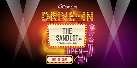 OC Parks Drive-In: The Sandlot tickets