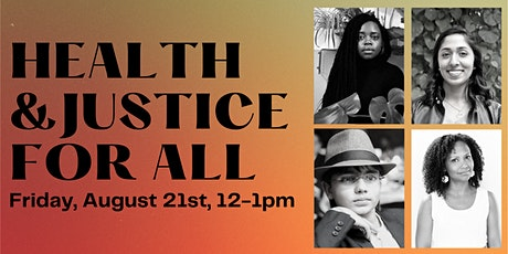 Health and Justice for All tickets