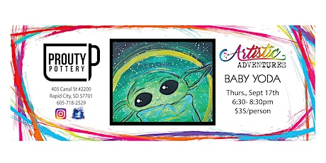 Baby Yoda- Canvas Painting tickets