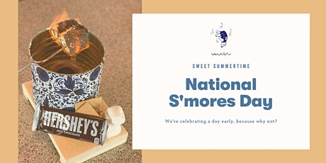 National S'mores Day (a day early) at Camp Trippalindee tickets