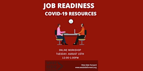 Job Readiness/ COVID-19 Resources tickets