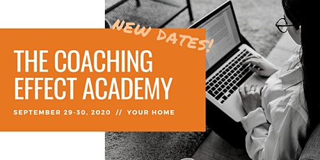 The Coaching Effect Academy by EcSell Institute, September 2020 tickets