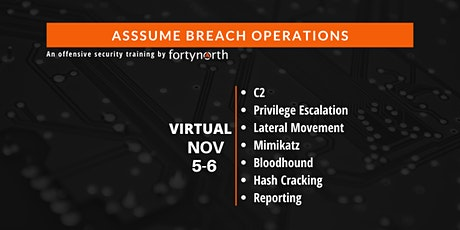Assume Breach Operations **VIRTUAL** tickets