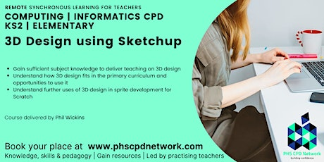 Primary / KS2 / Elementary - 3D design using Sketchup tickets