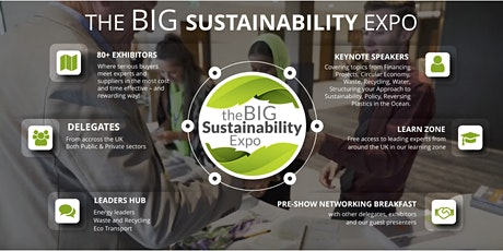 Sustainability Expo  Workshop:Environment/Social/Governance Sustainability tickets