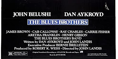 BLUES BROTHERS at BDI (Wed & Thurs 8/12-13) tickets