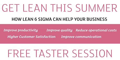 How lean 6 sigma can help your business in the 'new normal' tickets