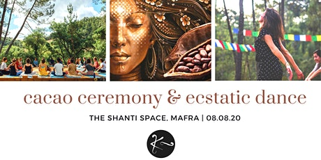 Community Cacao Ceremony & Ecstatic Dance bilhetes