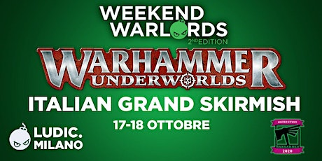 Warhammer Underworld Italian Grand Skirmish biglietti