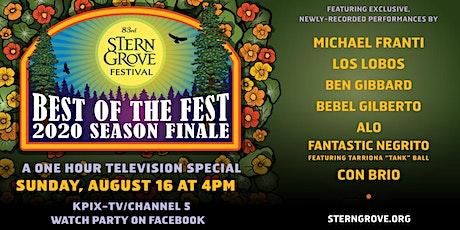 Stern Grove Festival's Best of the Fest Season Finale tickets