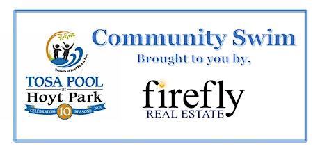 Firefly Friday Community Swim Night tickets