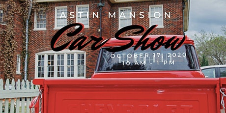Astin  Mansion Car Show tickets