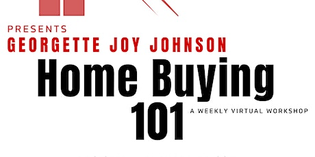 Home Buying 101 with Joy tickets