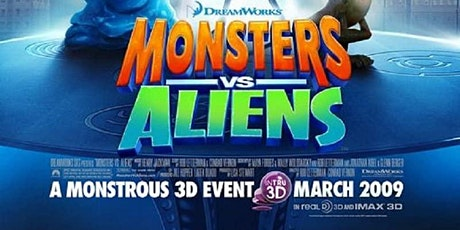 MONSTERS VS ALIENS at BDI (Tues & Wed 8/18-19) tickets