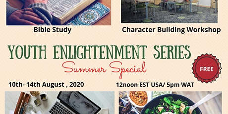 Youth Enlightenment Series- Summer Special tickets