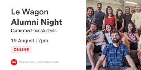 English Event - Alumni Night | Meet our Alumni and Team! | Le Wagon BH tickets