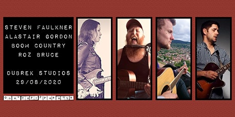 Steven Faulkner, Alastair Gordon, Boom Country and Roz Bruce at Dubrek! tickets